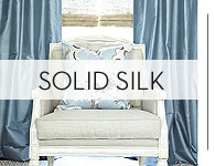 Custom Silk Drapes